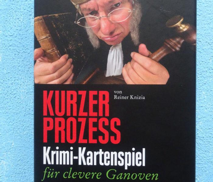 """""""Wer hat den Längsten?! – Spieletest von """"Kurzer Prozess"""", Krimi-Kartenspiel für clevere Ganoven (Reiner Knizia)*"""