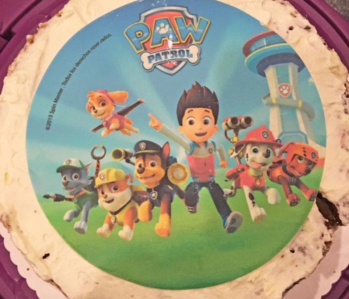 Paw-Patrol-Kuchen fürs Patenkind