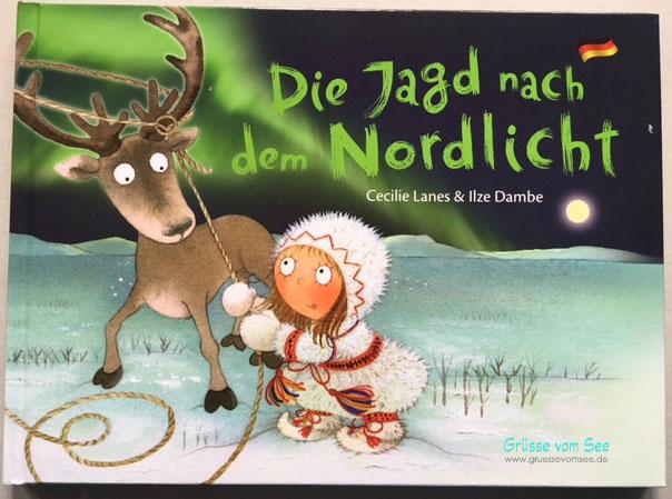 {Rezension} Die Jagd nach dem Nordlicht (Cecilie Lanes/Ilze Dambe)