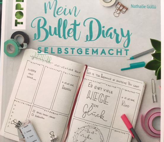 {Rezension} Mein Bullet Diary selbstgemacht (Nathalie Güllü)