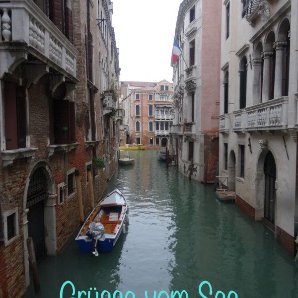 Flaschenpost: Aqua Alta – Venedig 2018