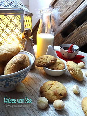 """Macadamia-White-Chocolate-Cookies"" aus ""New York Christmas"" – glutenfrei"