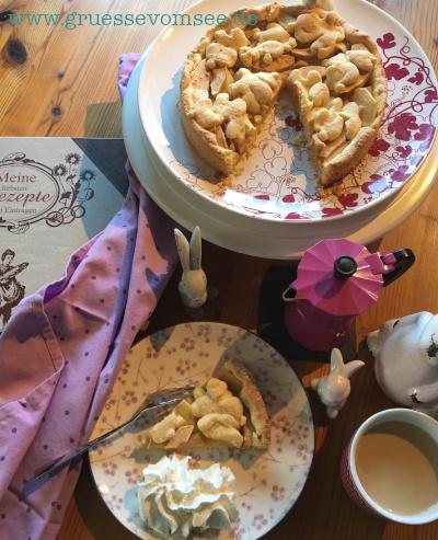 Let´s cook together: Kochbuchliebe mit glutenfreiem Apfelkuchen