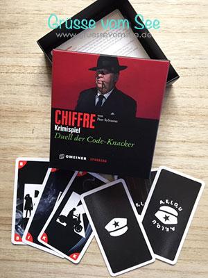 Chiffre – Duell der Code-Knacker (Peer Sylvester)* Spieletest