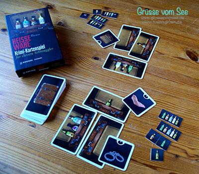 Heisse Ware – Krimi-Kartenspiel für clevere Schmuggler (Reiner Knizia)*