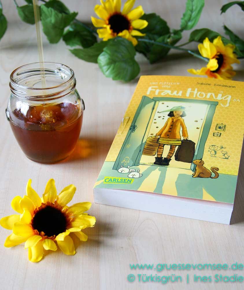 """Kinderbuch """"Und plötzlich war Frau Honig da"""" von Sabine Bohlmann"""