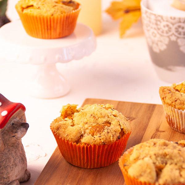 Apfelmuffins mit Streuseln nach einem Rezept von Tastesheriff – glutenfrei