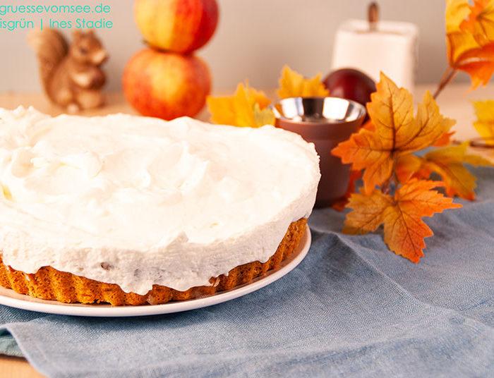 Glutenfreier Kuchen mit Apfelmus