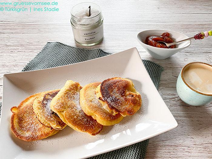 Fluffige, glutenfreie Pancakes